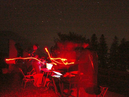 Star Party am 05.08.2005